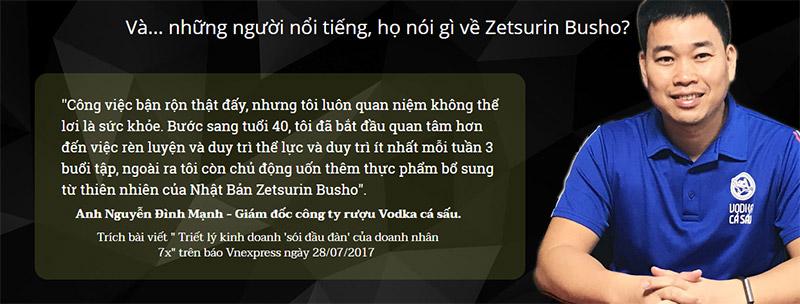 zetsurin busho có tốt không