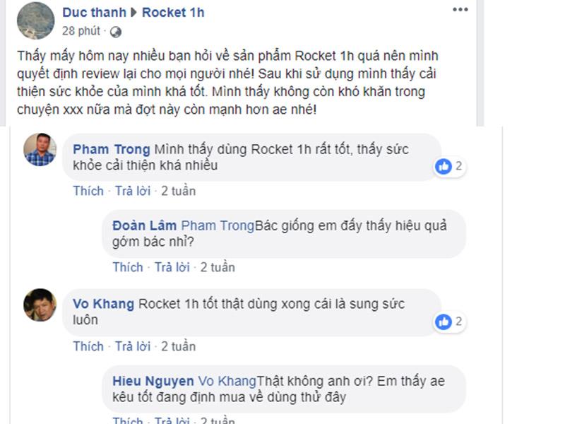 rocket 1h có tốt không