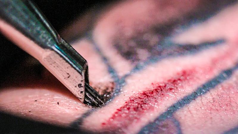 Xăm (tattoo) không an toàn có thể là nguyên nhân gây lây nhiễm viêm gan B
