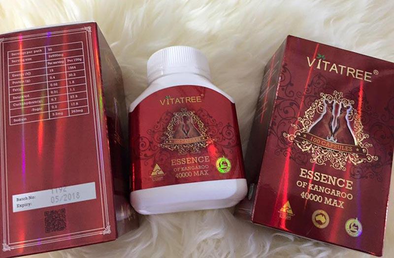vitatree essence of kangaroo 4000 max có tốt không