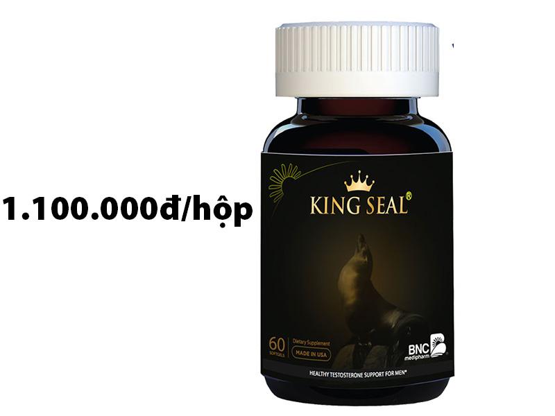 vua hải cẩu king seal bnc có tốt không