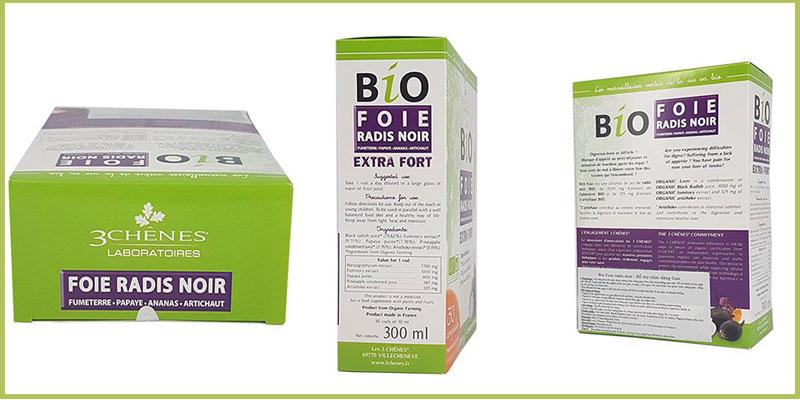bio foie radis noir extra fort có tốt không