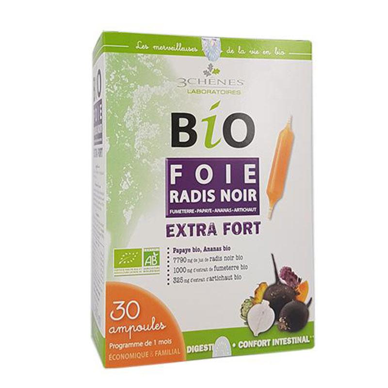 bio foie radis noir extra fort