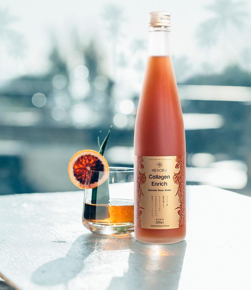 hebora collagen enrich damask rose water có tốt không
