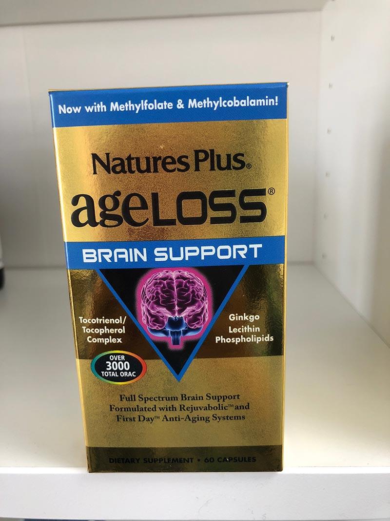 ageloss brain support có tốt không