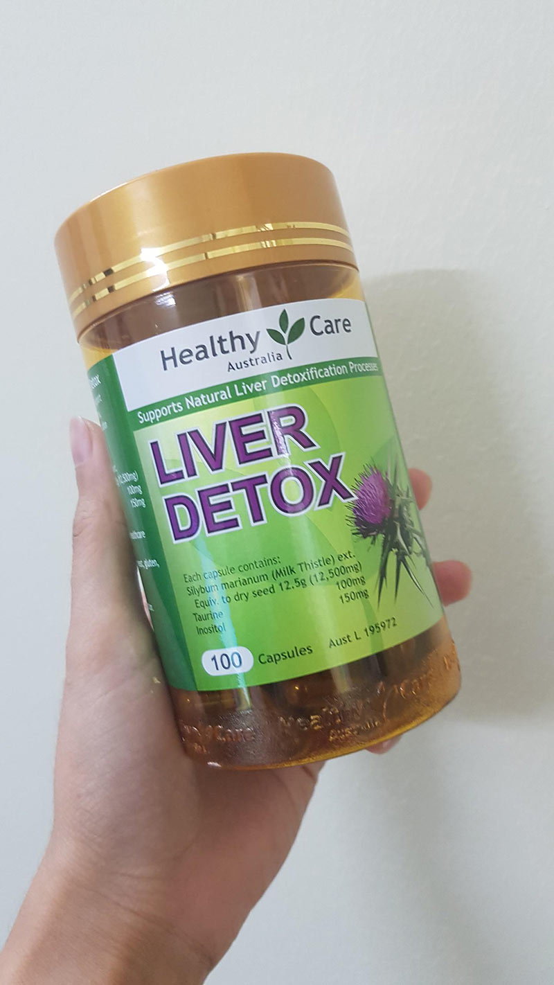 healthy care liver detox có tốt không