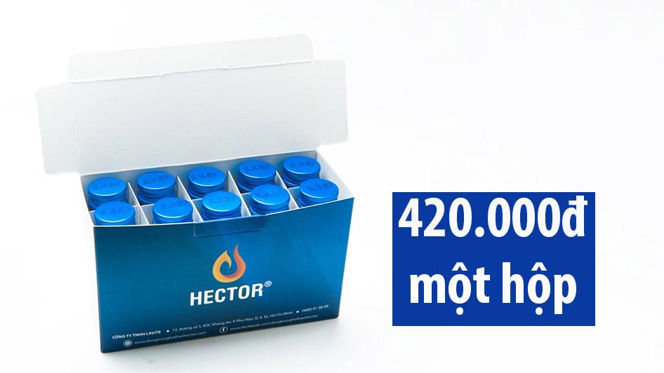 nước đông trùng hạ thảo hector sâm có tốt không