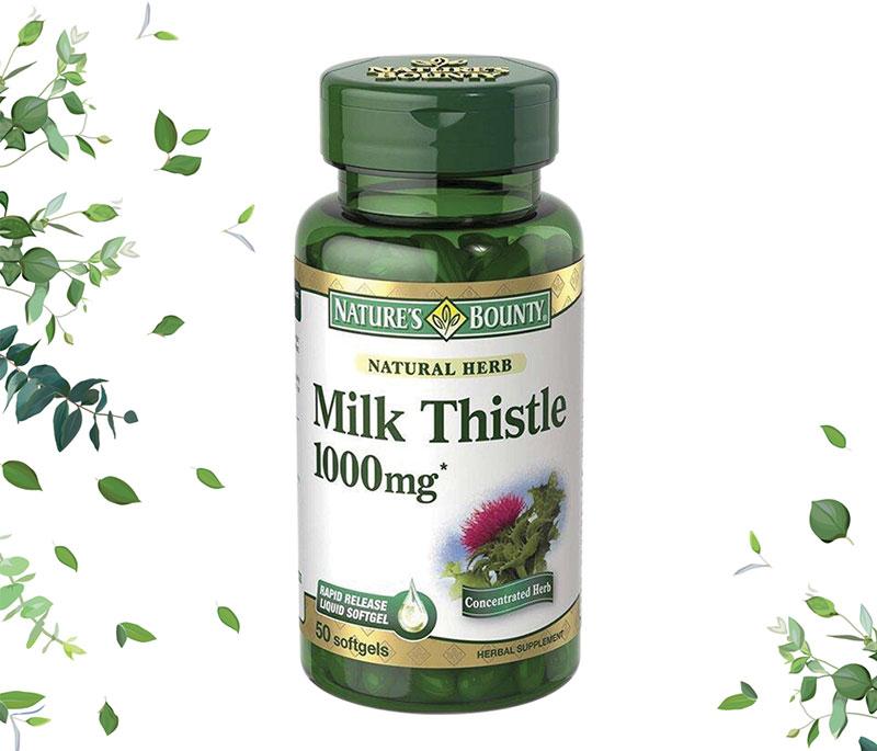viên giải độc gan silymarin milk thistle 1000mg có tốt không