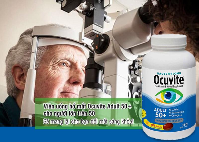 viên bổ mắt người lớn tuổi ocuvite có tốt không