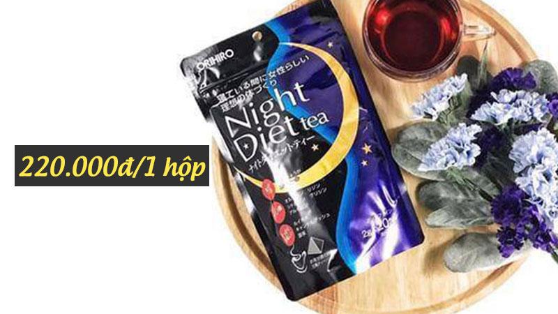 night diet tea có tốt không