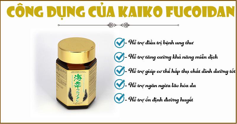 cong dung kaiko fucoidan