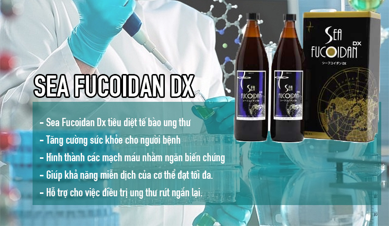 cong dung sea fucoidan dx