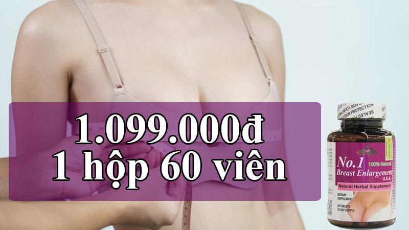 viên hỗ trợ nở ngực no.1 breast enlargement usa có tốt không