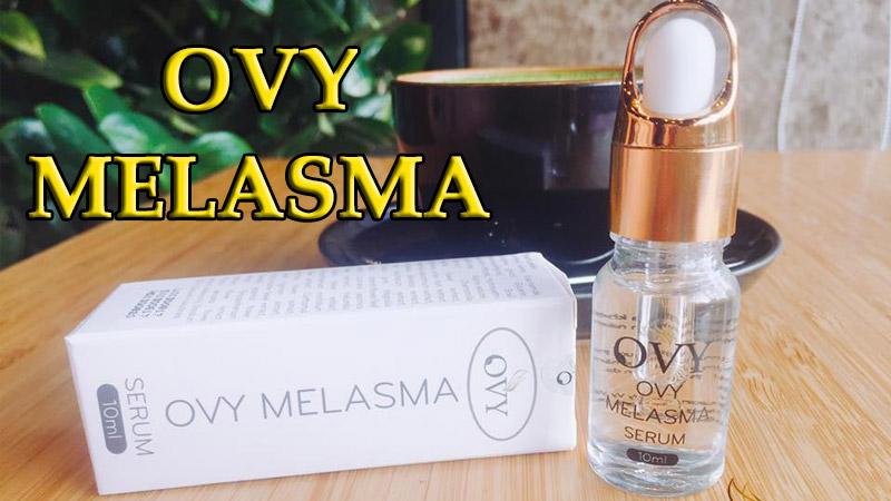 serum ovy melasma có tốt không