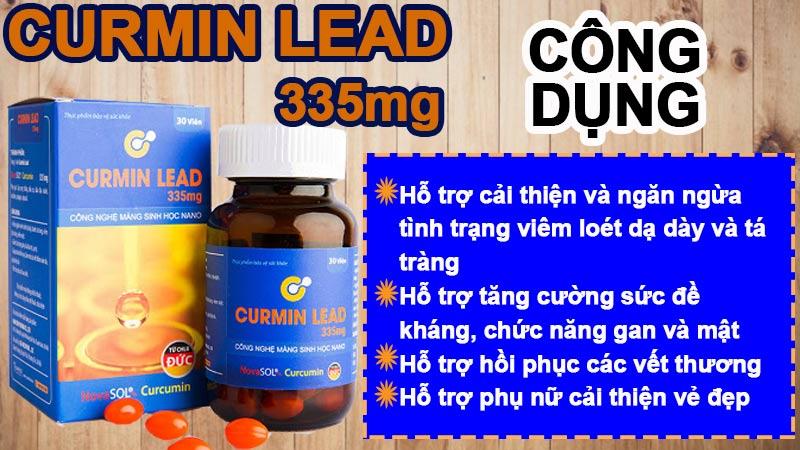 curmin lead 335mg có tốt không