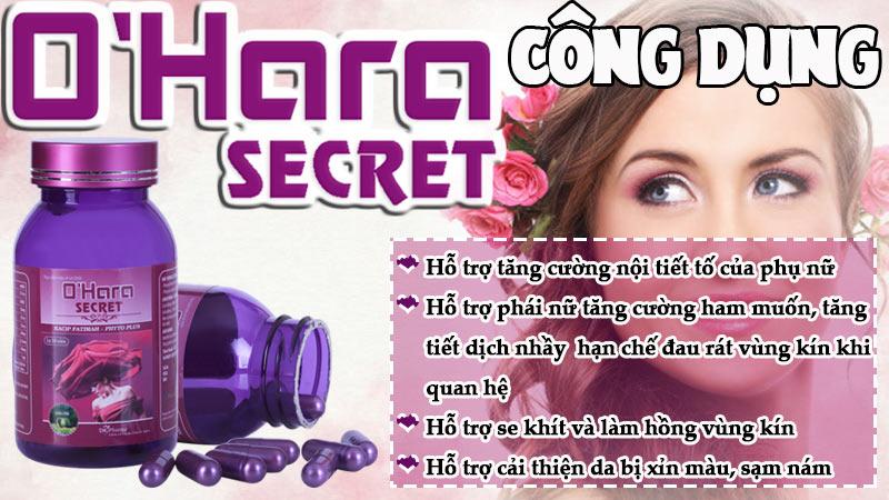 o'hara secret có tốt không