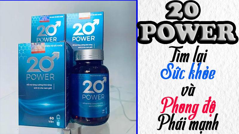 20 power có tốt không