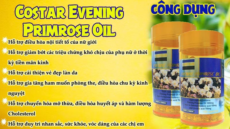 costar evening primrose oil có tốt không