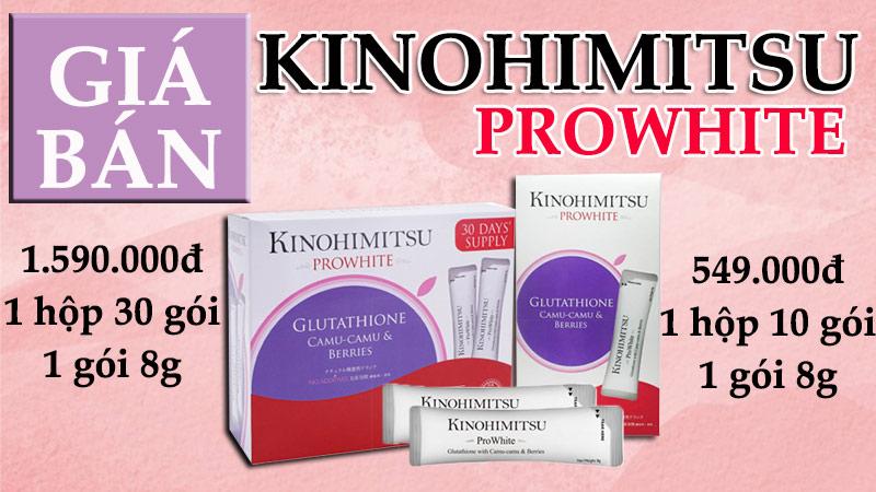 kinohimitsu prowhite có tốt không