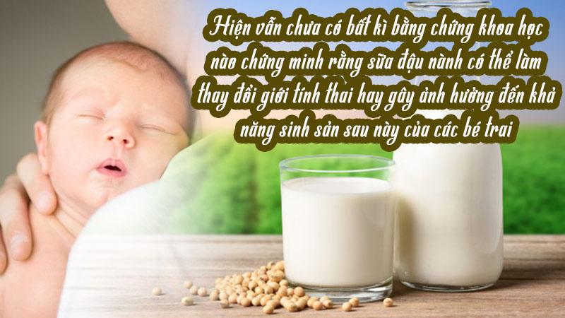 bà bầu uống sữa đậu nành có sao không