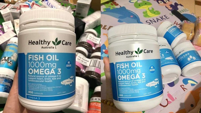 healthy care fish oil 1000mg omega 3 4