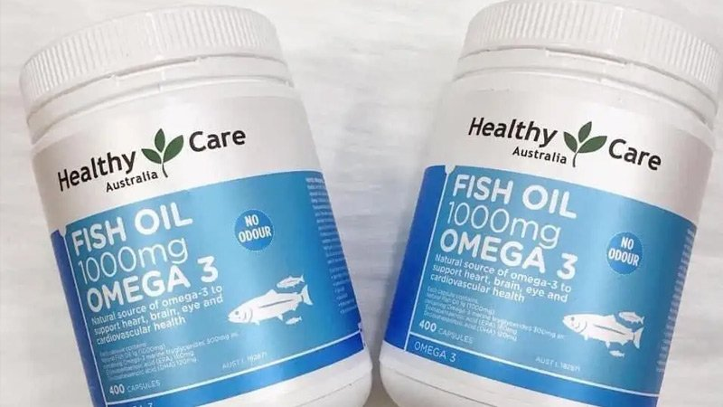 healthy care fish oil 1000mg omega 3 6