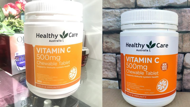 healthy care vitamin c 50mg