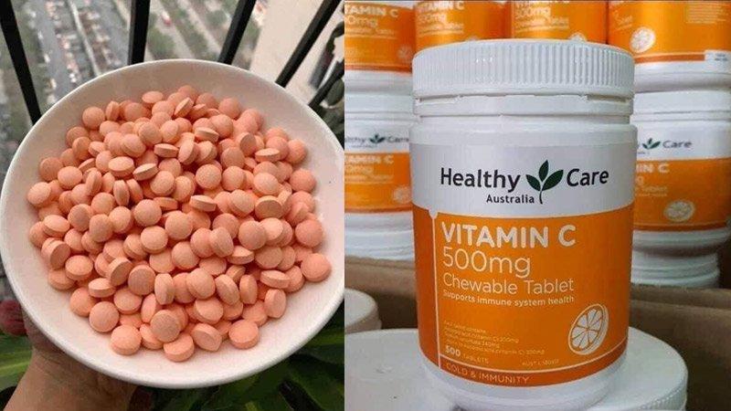 healthy care vitamin c 50mg 5