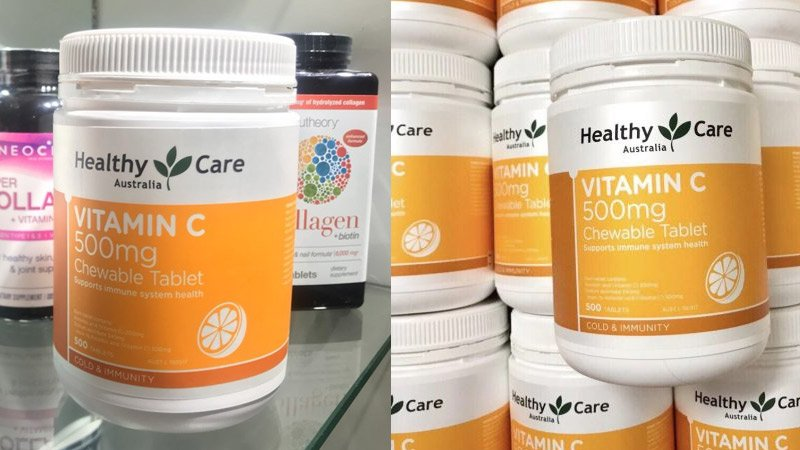 healthy care vitamin c 50mg 6