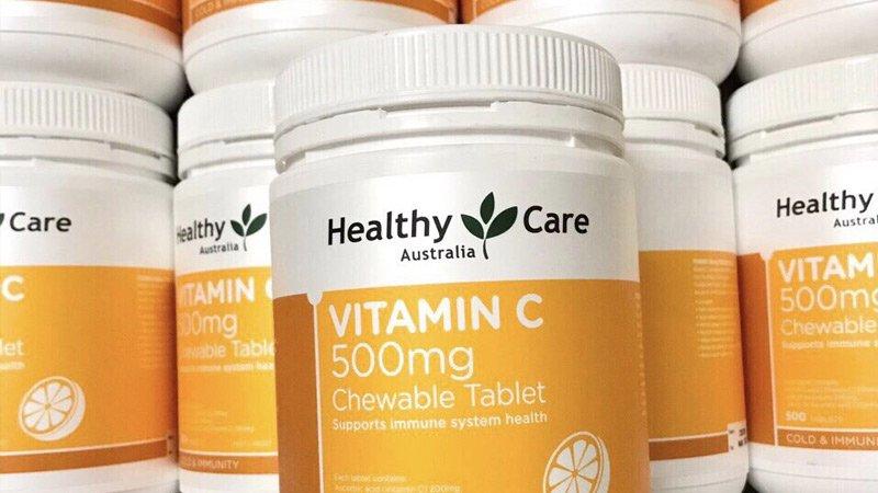 healthy care vitamin c 50mg 8