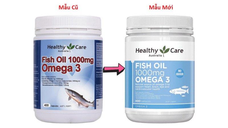 mau moi mau cu healthy care fish oil 1000mg omega 3
