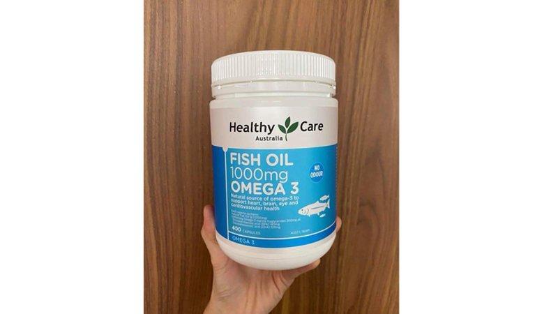 phan hoi khach hang healthy care fish oil 1000mg omega 3